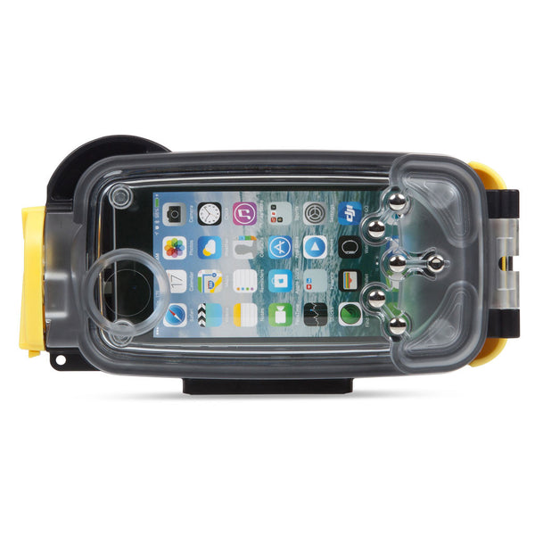 Watershot® PRO Line Housing iPhone® 6(s) Black/Sunfish