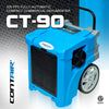 Contair® CT-90 105 PPD Basement Crawl Space Commercial Dehumidifier in Blue