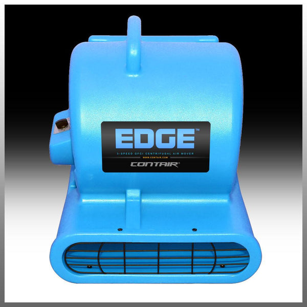 Air Mover - Contair® EDGE 1/3HP GFCI Air Mover Carpet Dryer Blower Floor Fan High CFM BLUE Color