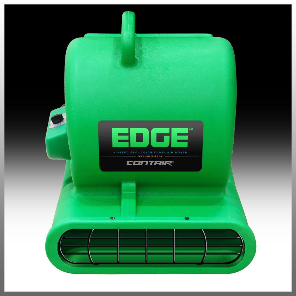 Contair® EDGE 1/3HP GFCI Air Mover Carpet Dryer Blower Floor Fan Green Color