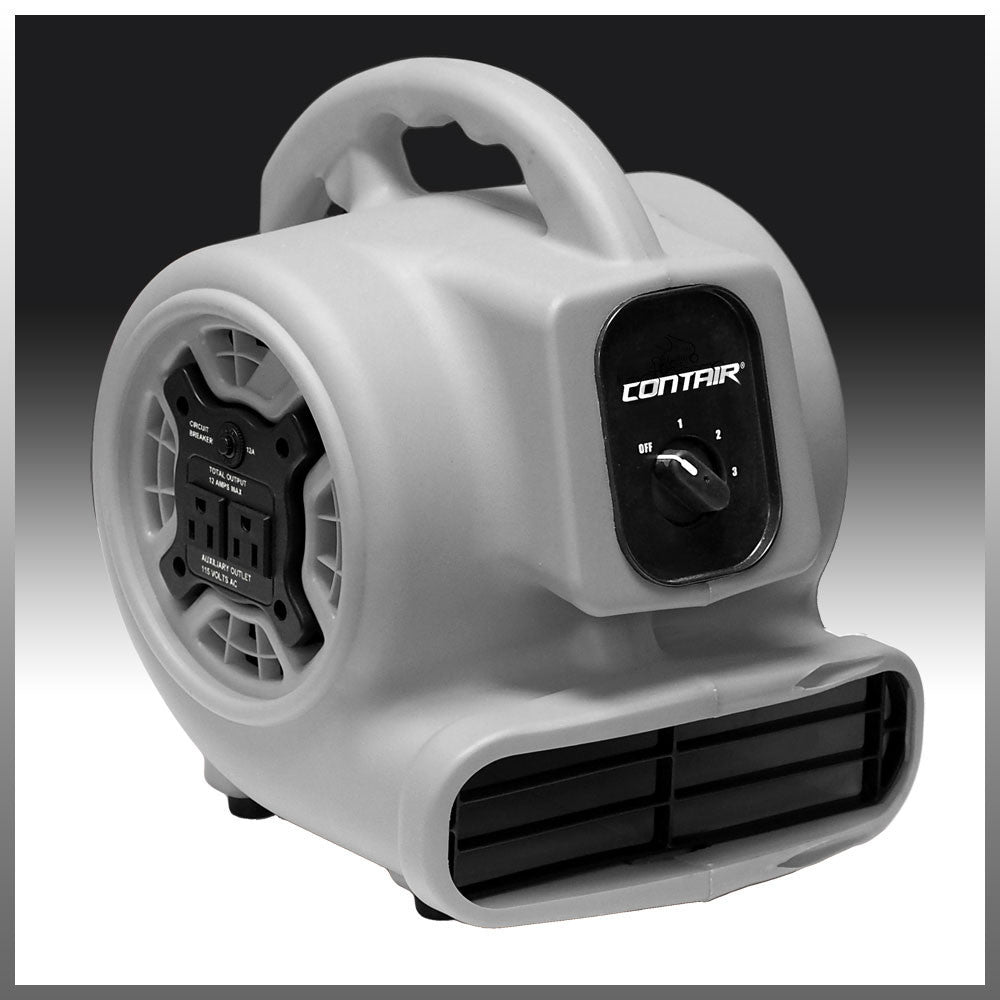 Most Powerful Floor Fans : Contair flow air mover carpet dryer blower floor fan high