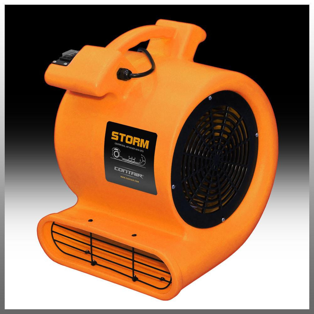 Contair storm cfm max airflow commercial air mover