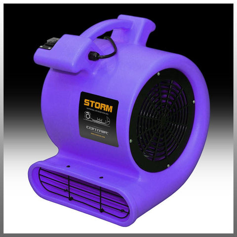 Air Mover - Contair® STORM Air Mover 1/2HP Carpet Dryer Blower Floor Fan High 2500 CFM Purple Color