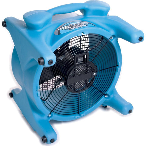Air Mover - Dri-Eaz® Ace TurboDryer® F259 Portable Airmover 2250 CFM Only 1.5 AMP Draw! Available In Blue