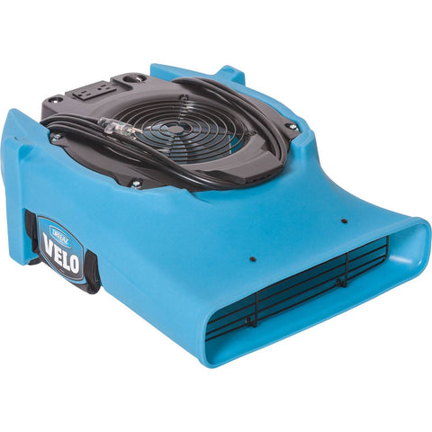 Air Mover - Dri-Eaz Velo™ F504 Airmover Radial Flat Compact Floor Drying Air Mover High Velocity Carpet Dryer