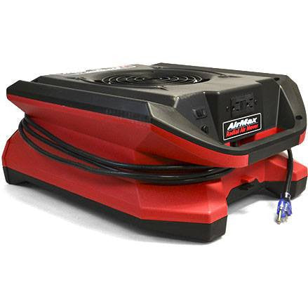 Air Mover - Phoenix™ AirMax Radial Flat Lightweight Air Mover 925 CFM Only 1.9 AMPS! Aailable In Red Color