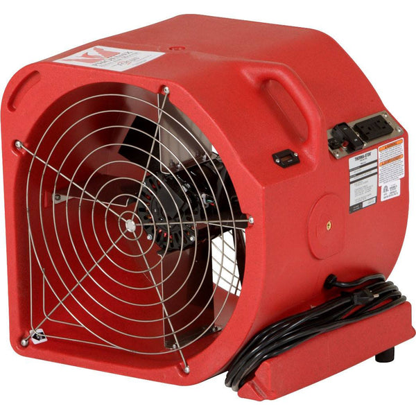 Air Mover - Phoenix™ Axial Airmover With Focus Technology 2-SPEED Polyethylene Housing Air Mover In Red Color
