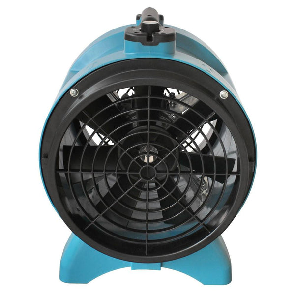 "Air Mover - XPOWER X-12 1/2 HP 12"" Industrial Confined Space Ventilator Fan Exhaust Optional Duct"