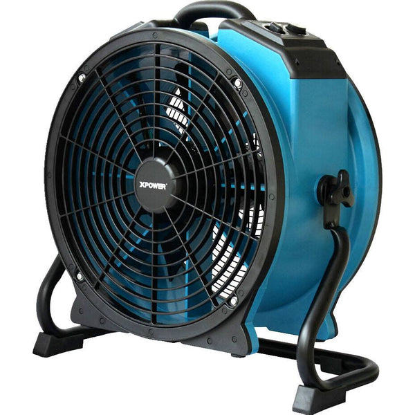 Air Mover - XPOWER X-47ATR 1/3 HP Sealed Motor Industrial Axial Fan With Timer & Power Outlets