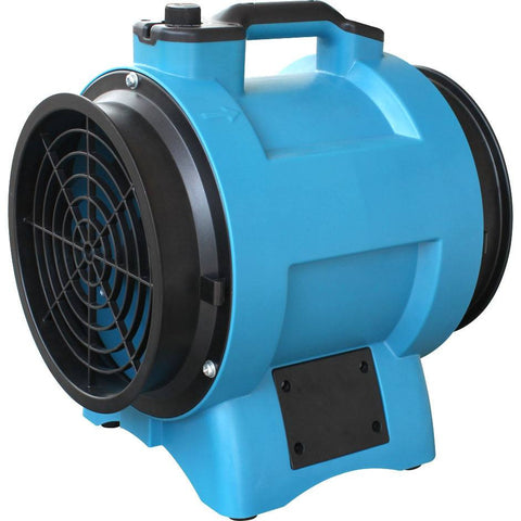 "Air Mover - XPOWER X-8 1/3 HP 8"" Industrial Confined Space Ventilator Fan Manhole Sewer Exhaust"