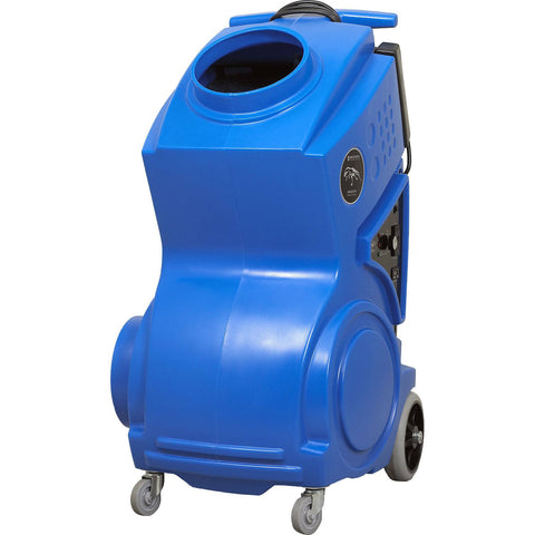 Air Scrubber - Abatement Technologies PRED1200 Portable XL Air Scrubber Upright Air Purifier Blue Color