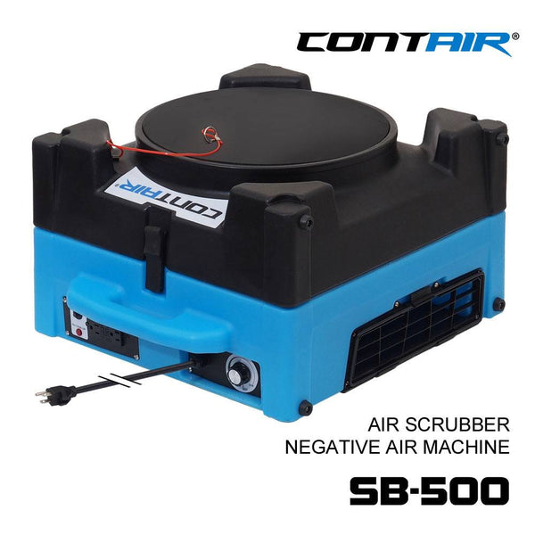 Air Scrubber - Contair-SB-500-HEPA-Air-Scrubber-Negative-Air-Machine Commercial Air Purifier