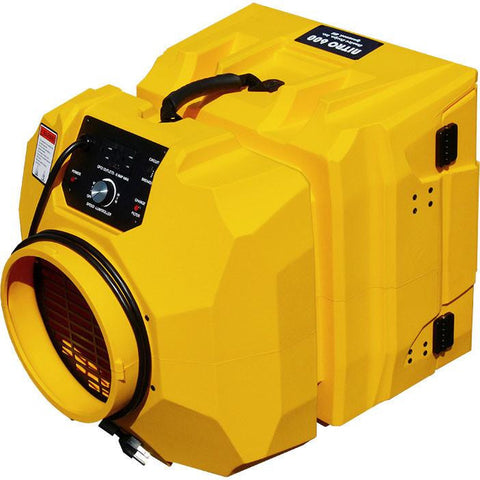 Air Scrubber - Omnitec Design OmniAire OA600N Negative Air Machine HEPA Air Scrubber Purifier Stackable Yellow