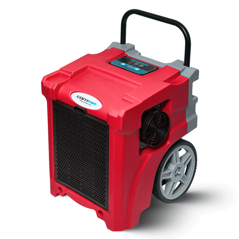 Contair® CT-90 105PPD Basement Crawl Space Commercial Dehumidifier in Red