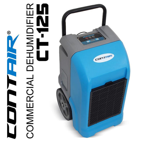 Dehumidifier - Contair® CT-125 ETL Certified Commercial Grade Dehumidifier Humidity Controller Blue Color