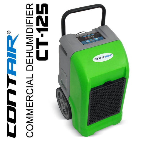 Dehumidifier - Contair® CT-125 ETL Certified Commercial Grade Dehumidifier Humidity Controller Green Color