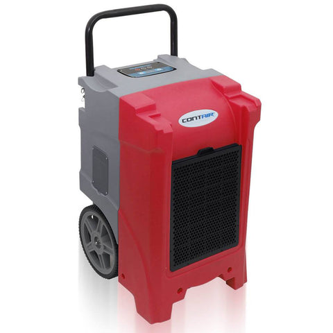 Dehumidifier - Contair® CT-180 XL Commercial Grade Dehumidifier Humidity Control ETL Certified Red Color