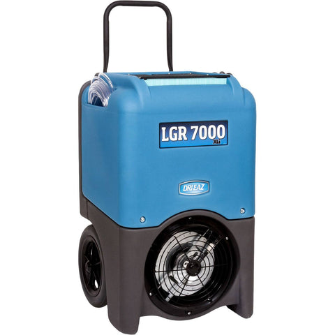 Dehumidifier - Dri-Eaz® 7000Xli Portable Flood Water Damage LGR Dehumidifier The Leader In XL Category Blue