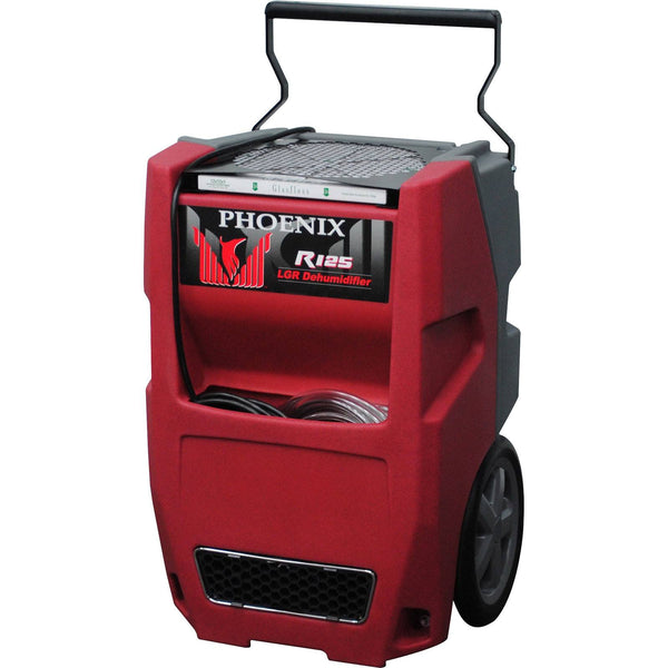 Dehumidifier - Phoenix™ R125 Commercial Dehumidifier High Quality Water Flood Restoration Dehu 65 PPD At AHAM Red