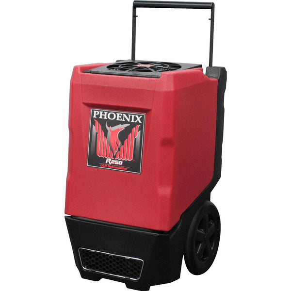 Dehumidifier - Phoenix™ R250 Extra Karge Dehumidifier 135 Pt/day, 310 Cfm, 8.3 Amp, 110-120 VAC Red