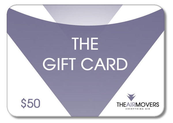 Gift Card - The Air Movers Gift Card