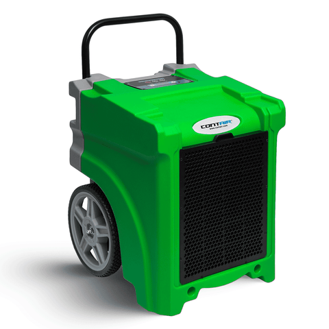 Contair® CT-90 105PPD Basement Crawl Space Commercial Dehumidifier in Green