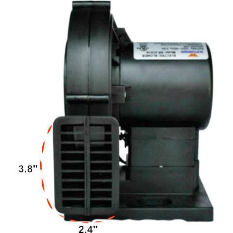 Inflatable Blower - XPOWER BR-2C01A 1/8 HP 120 CFM Indoor / Outdoor / Backyard Decoration Inflatable Blower