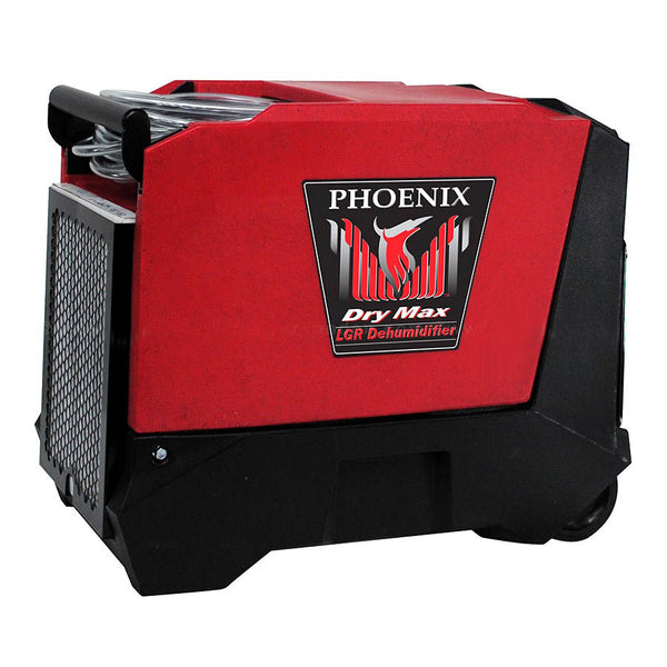 Phoenix Dry Max Industrial LGR Dehumidifier 80 PPD Water Extraction at only 5.7 Amps