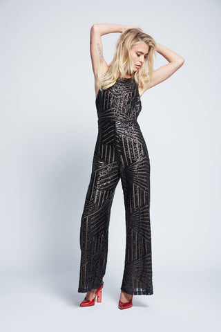 BIANCA SEQUIN JUMPSUIT