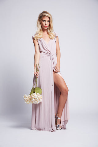 SIENNA MAXI WRAP DRESS