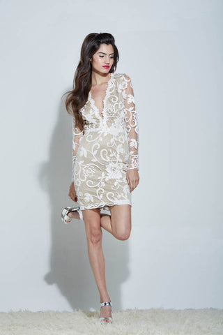 LANI SEQUIN MINI DRESS