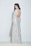 VIVIAN SEQUIN MAXI DRESS