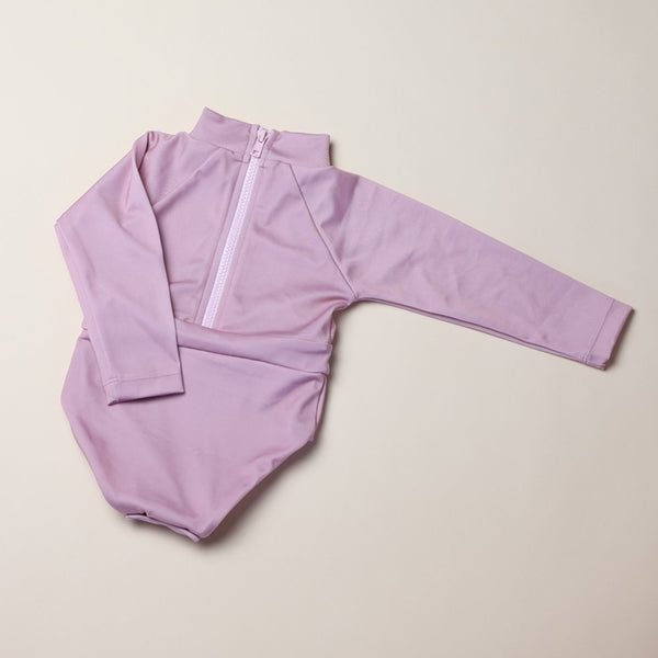 June Long Sleeve One Piece - Rose