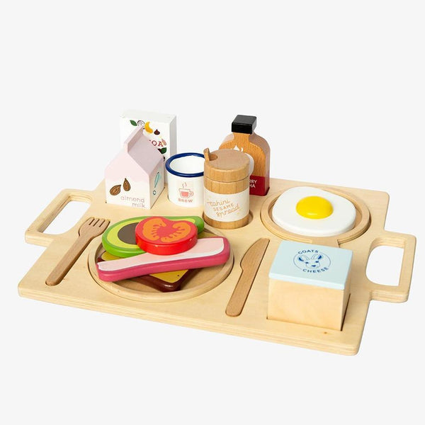 Healthy Tummy Brekkie Wooden Breakfast Set - Wildwood Lane