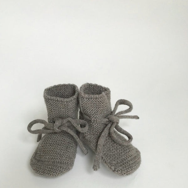 Merino Booties - Otter - Wildwood Lane