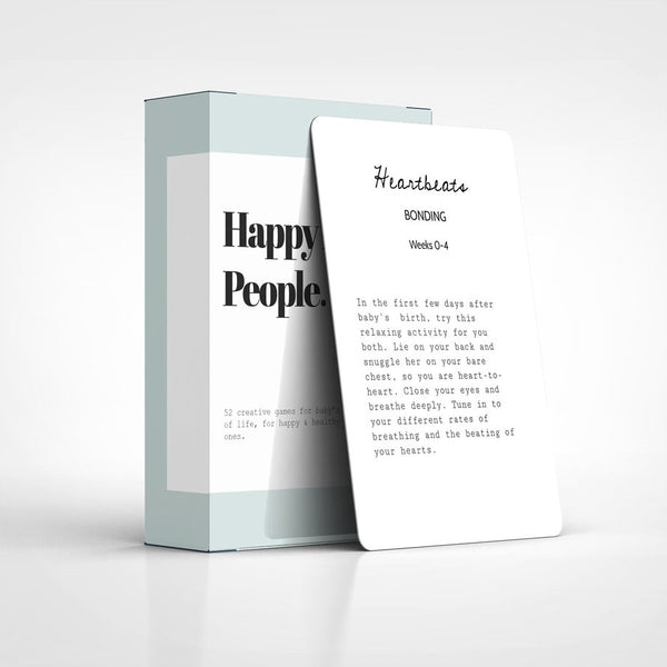 Happy Little People Card Deck - Wildwood Lane