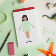 Sofia Dress-Me Notepad - Wildwood Lane