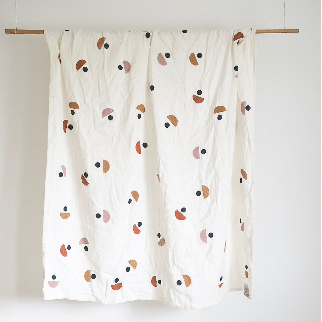 Moon Wrap - Muslin Swaddle - LAST ONE