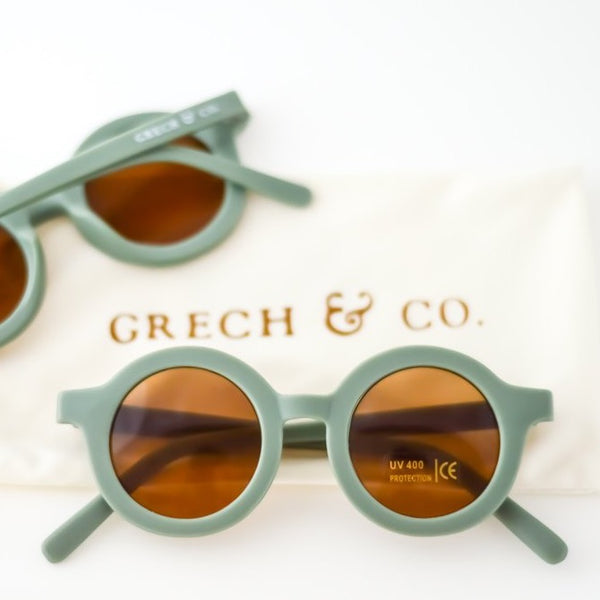 Sustainable Kids Sunglasses - Fern - LAST ONES