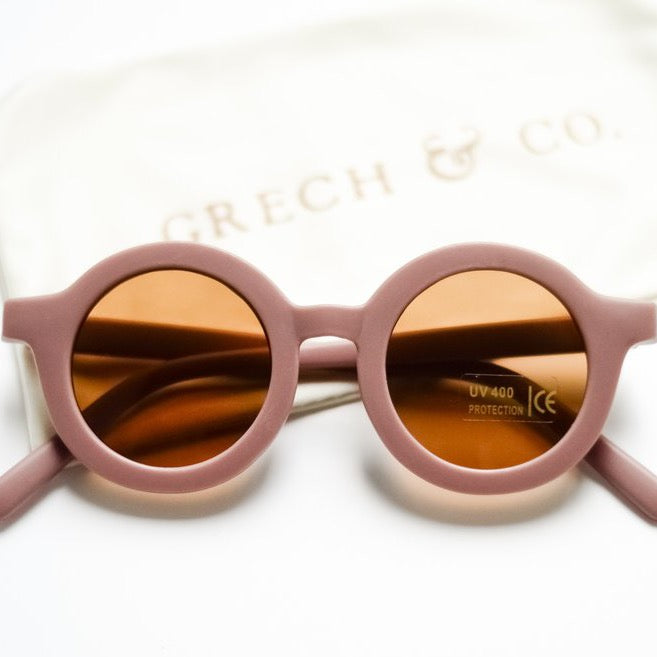 Sustainable Kids Sunglasses - Burlwood - Wildwood Lane
