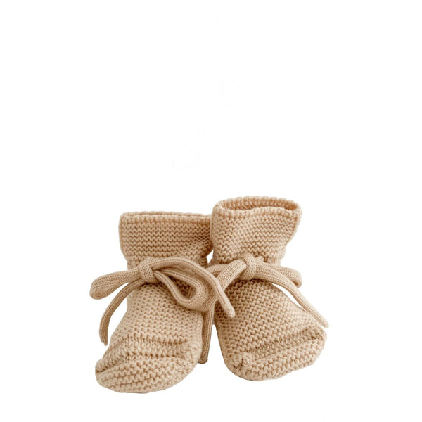 Merino Booties - Oat - LAST ONE - Wildwood Lane