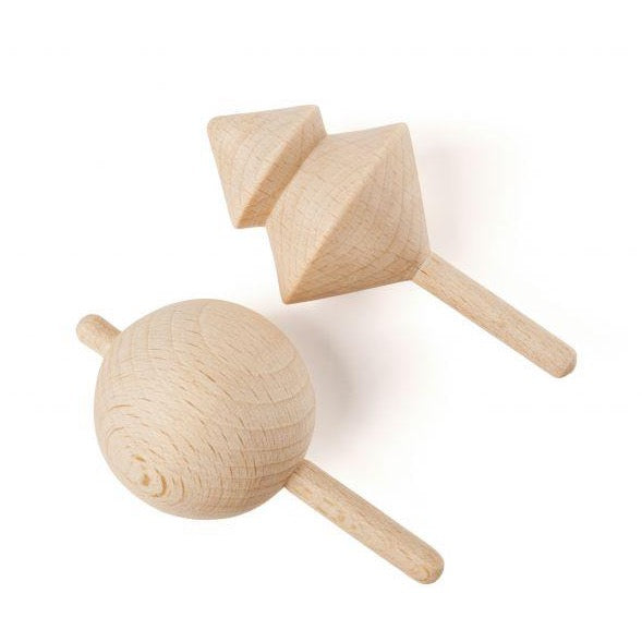 Whirlabout Whirlwind - Wooden Spinning Tops