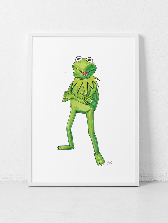 Kermit the Frog - Large Poster