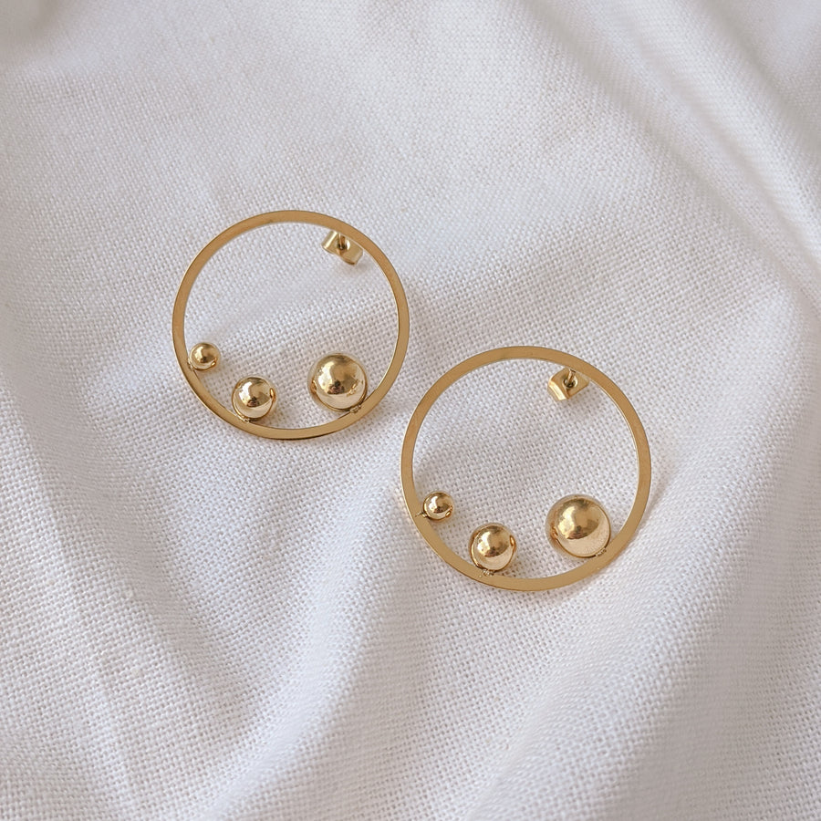 Sphere Earrings
