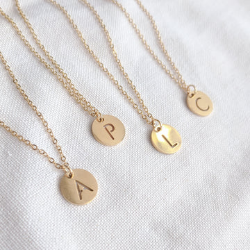 Letras Necklace