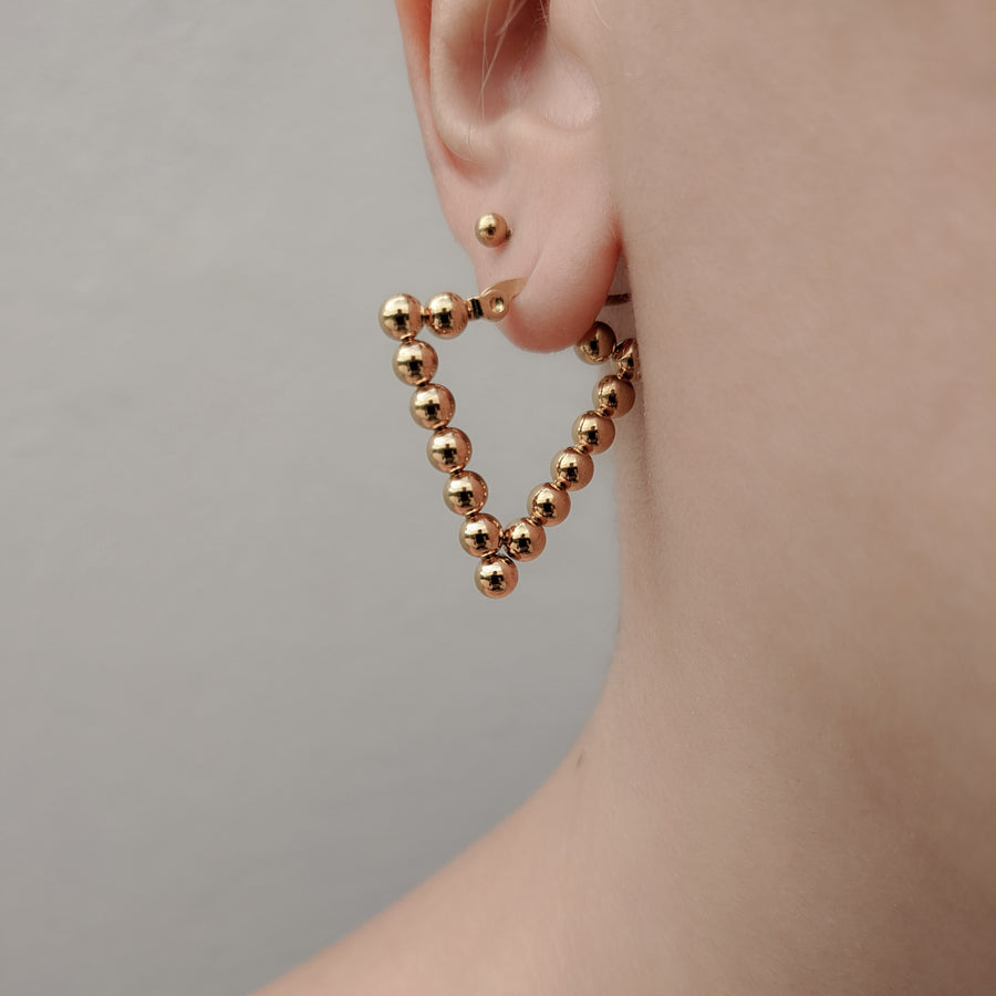 Dot Hoops Triangle