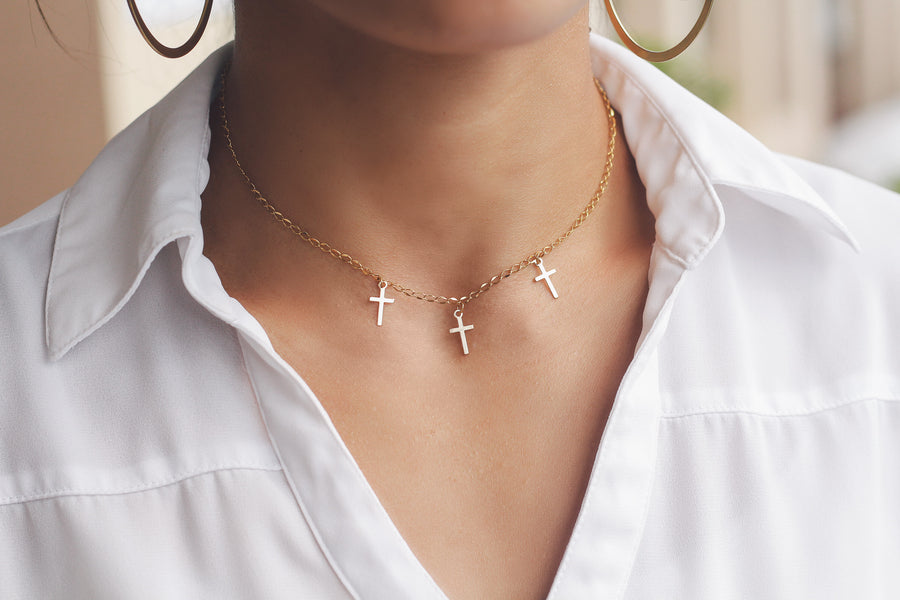 Cross Charms Necklace