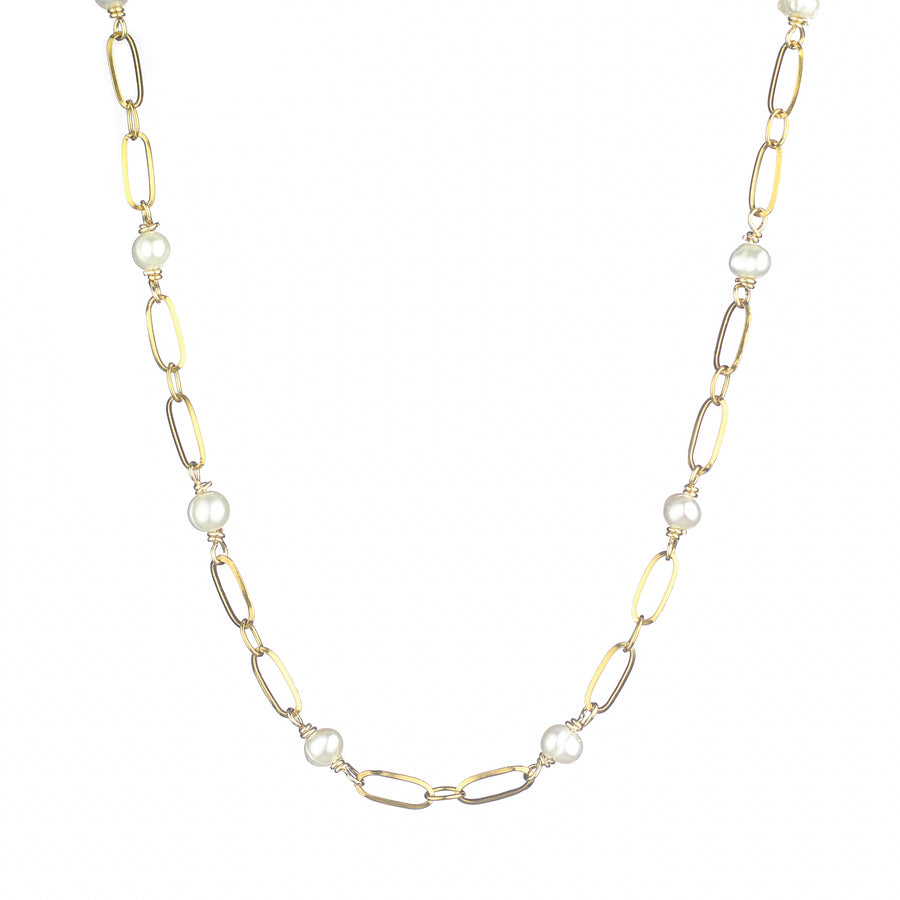 Freshwater Pearls Links Necklace