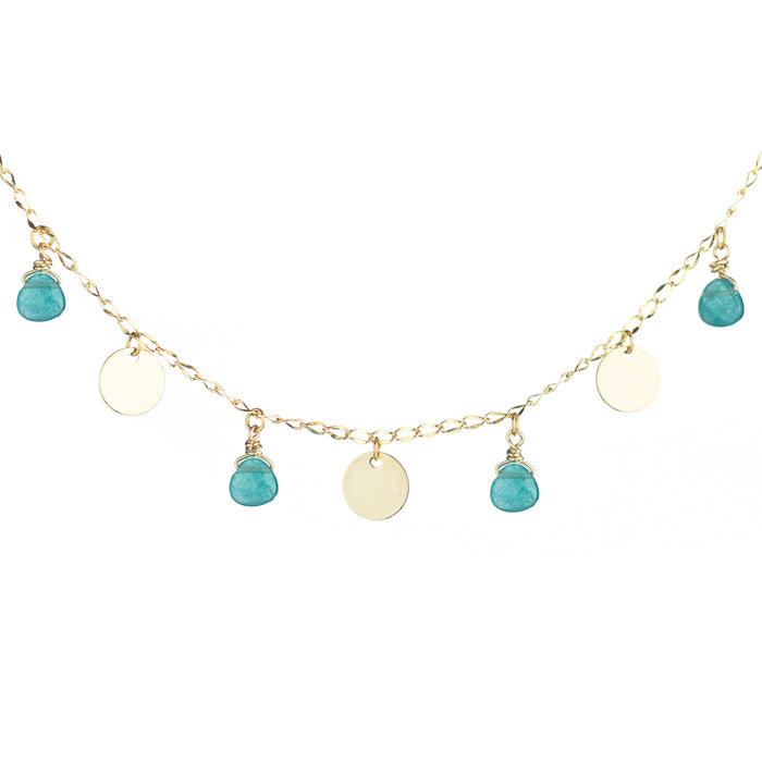 Jade Drops Necklace