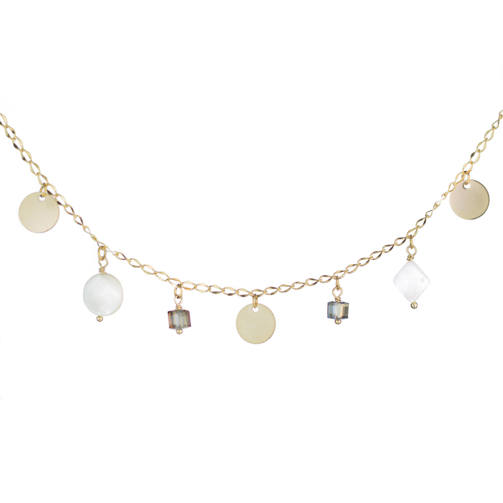 Nacre Drops Necklace